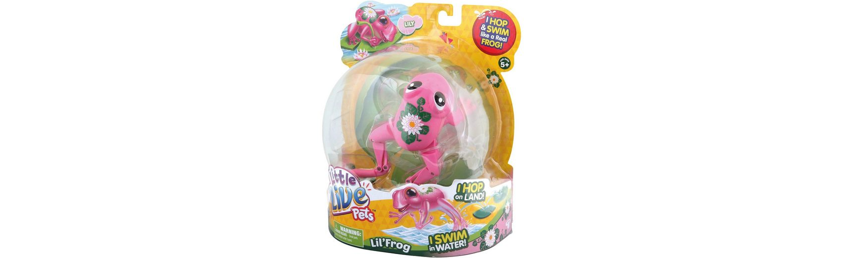 BOTI Little Live Pets 33927, Frosch Lily