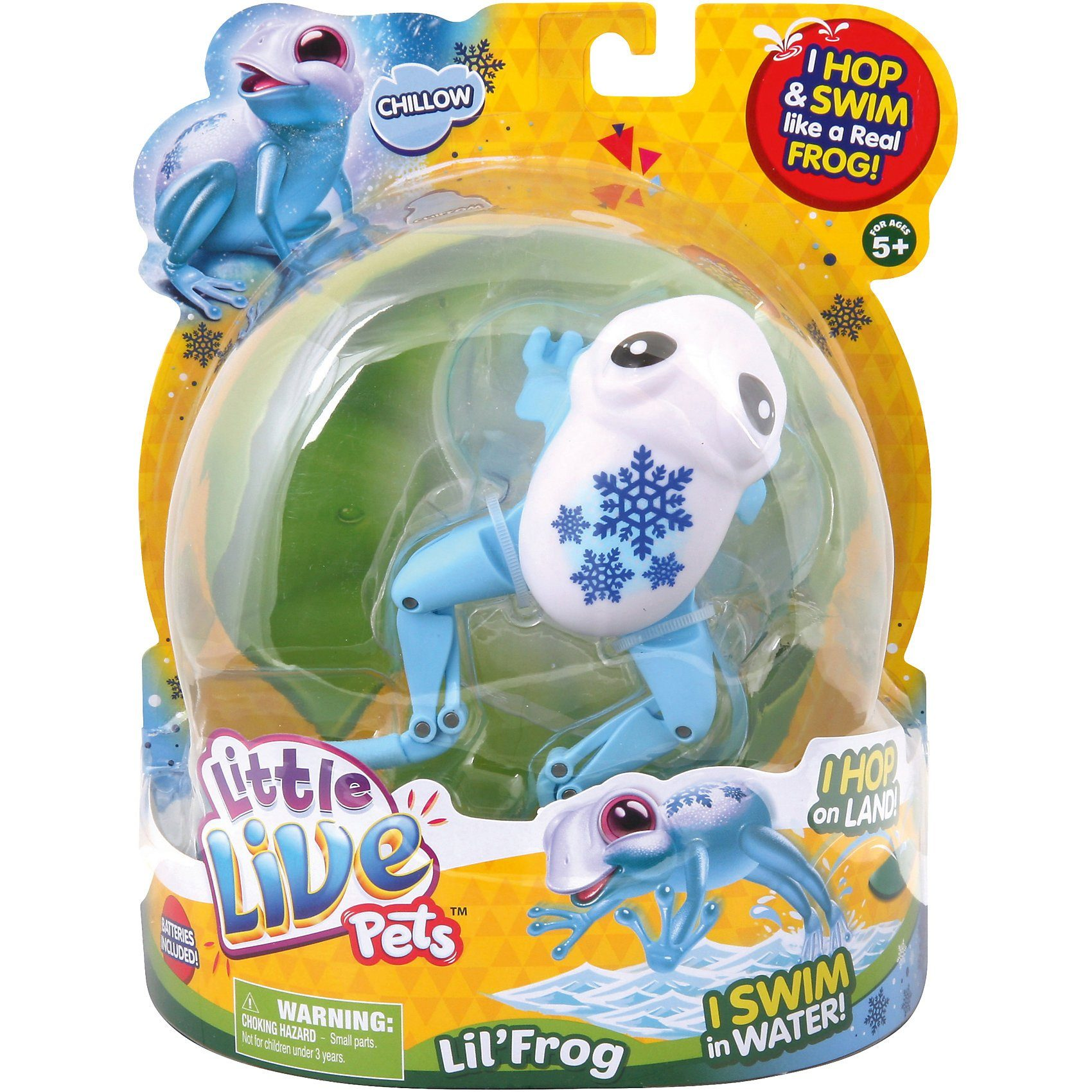 BOTI Little Live Pets 33928, Frosch Chillow Cool