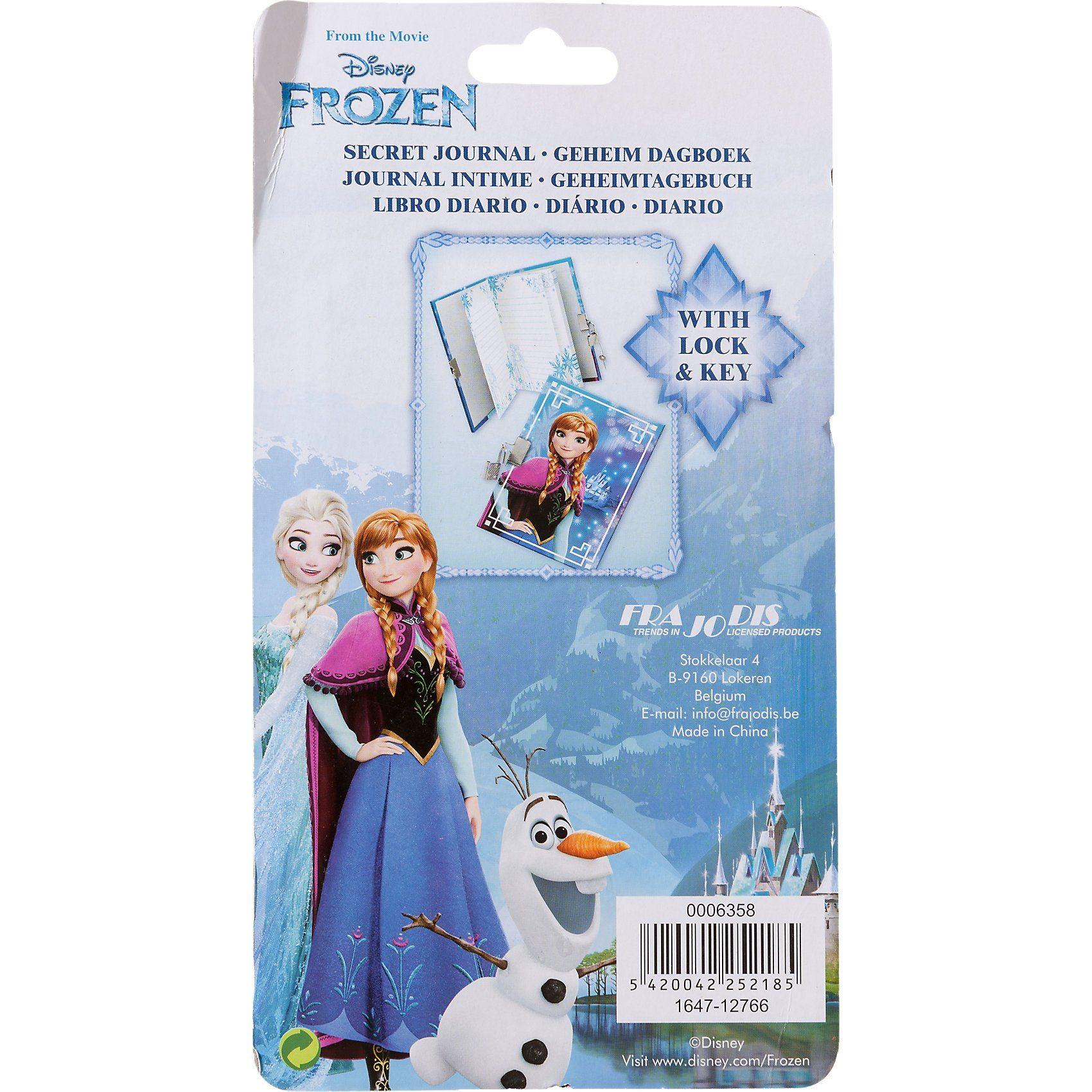 frajodis Tagebuch mit Schloss Disney Die Eiskönigin