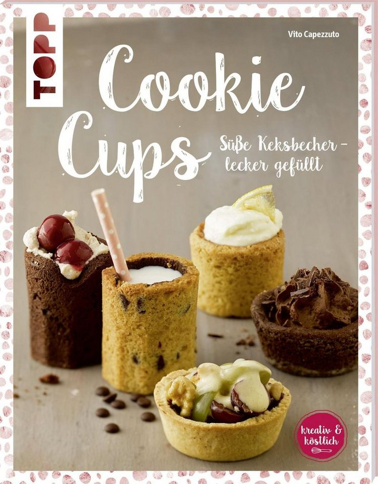 """Topp Buch """"Cookie Cups"""" 48 Seiten"""