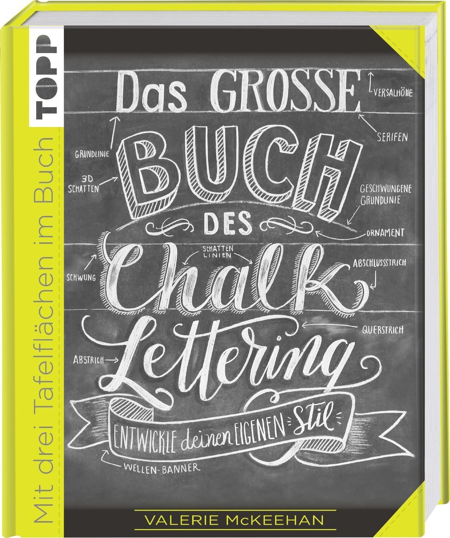 """Topp Buch """"Das grosse Buch des Chalk Lettering"""" 176 Seiten"""