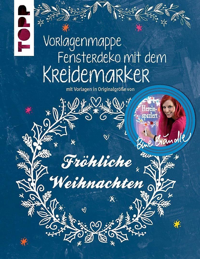 """Topp Buch """"Fensterdeko mit dem Kreidemaker- Fröhliche Weihnachten"""""""