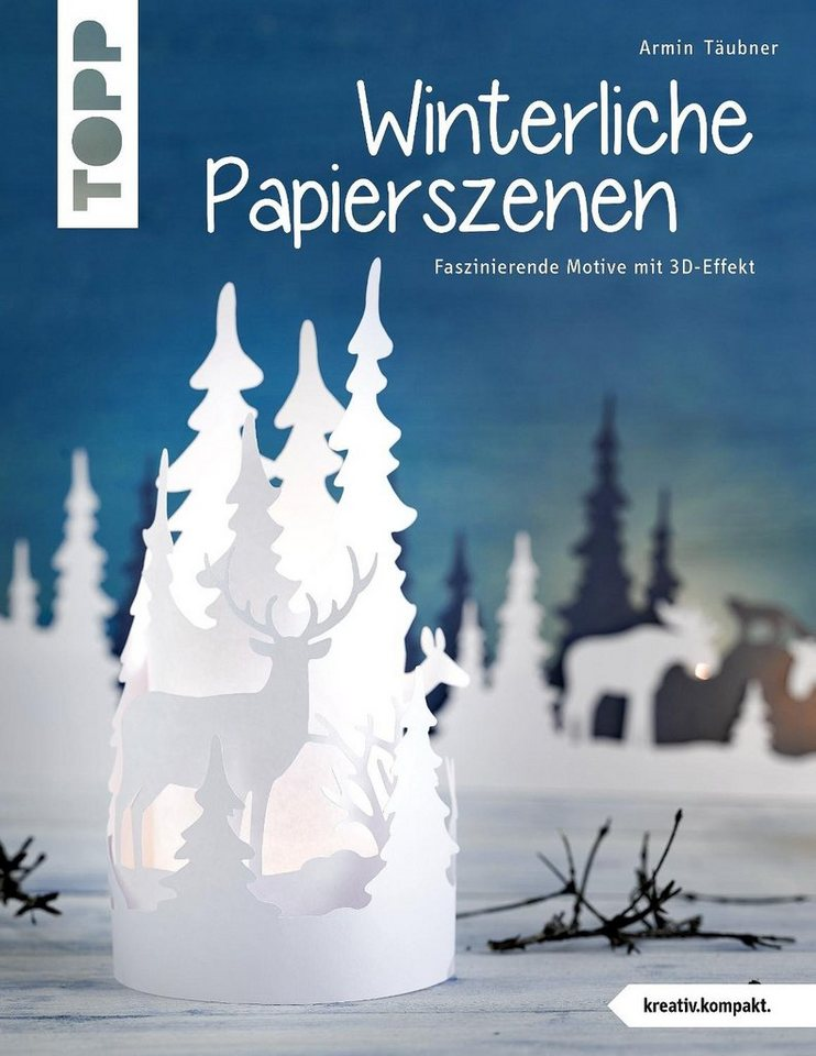 """Topp Buch """"Winterliche Papierszenen"""" 32 Seiten"""