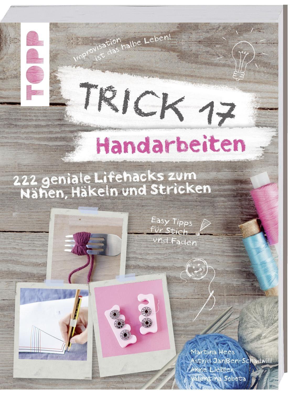 """Topp Buch """"Trick 17 Handarbeiten"""""""