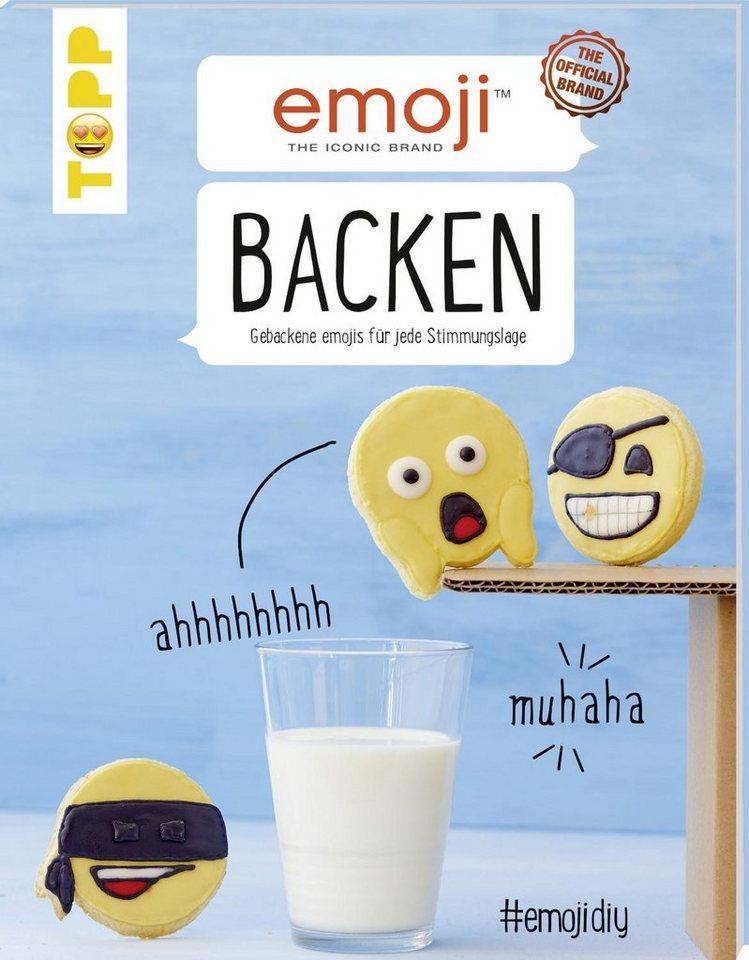 """Topp Buch """"emoji Backen"""" 48 Seiten"""