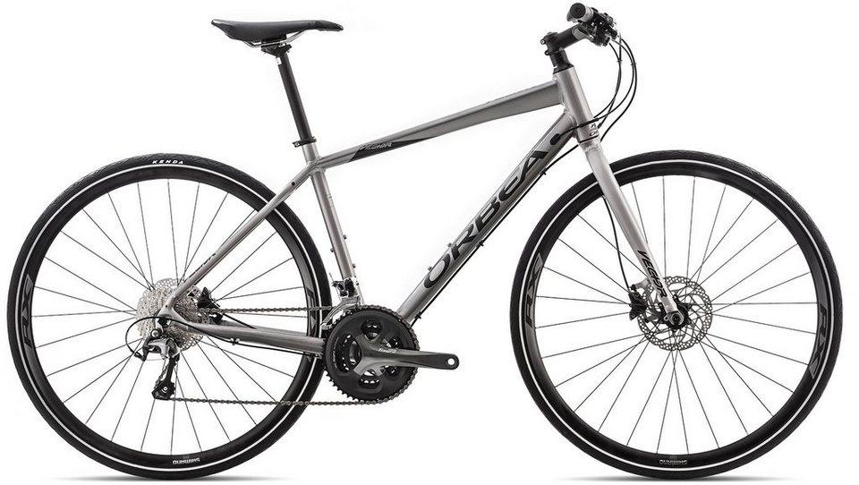 ORBEA Fitnessbike, 28 Zoll, 30 Gang Shimano Tiagra Kettenschaltung, »Vector 12« in silber-schwarz