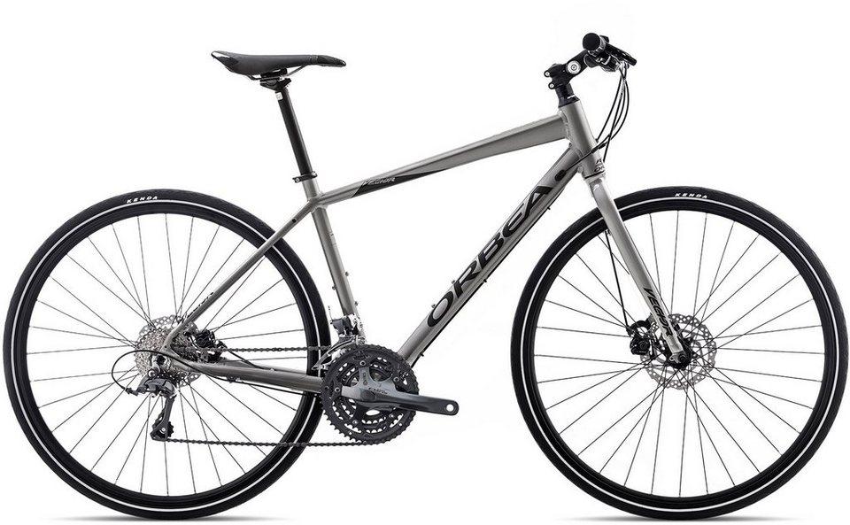 ORBEA Fitnessbike, 28 Zoll, 24 Gang Shimano Claris Kettenschaltung, »Vector 32« in silber schwarz