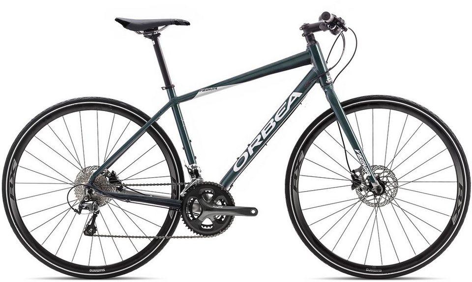 ORBEA Fitnessbike, 28 Zoll, 20 Gang Shimano Tiagra Kettenschaltung, »Vector 10« in blau-silber