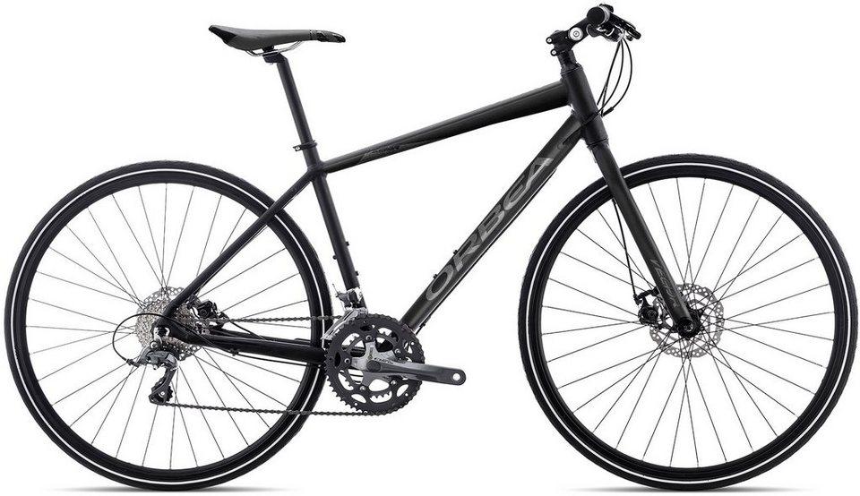 ORBEA Fitnessbike, 28 Zoll, 16 Gang Shimano Claris Kettenschaltung, »Vector 30« in schwarz