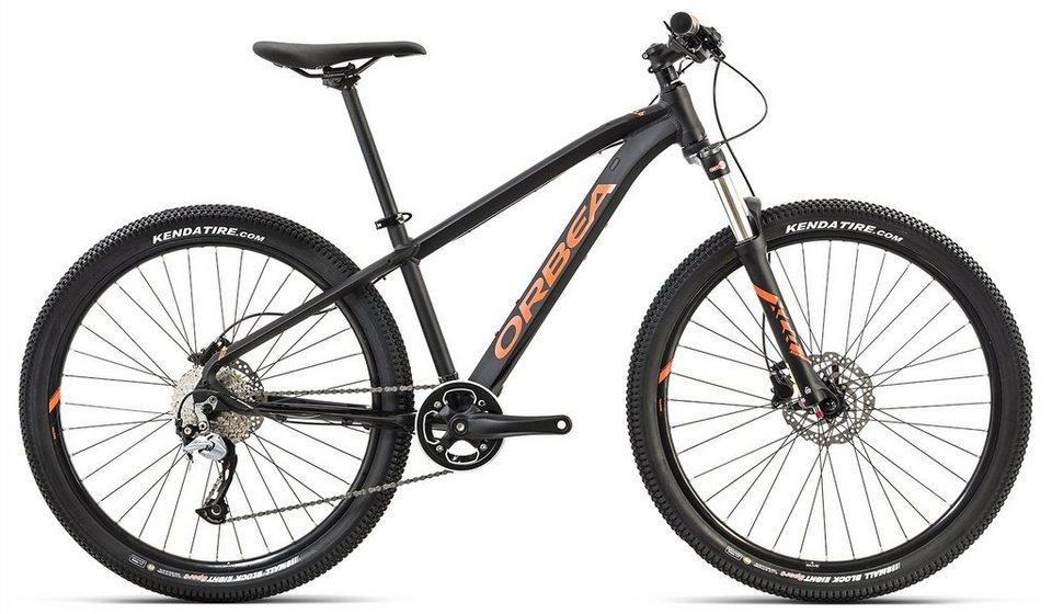 ORBEA Hardtail Mountainbike, 26 Zoll, 9 Gang Shimano Acera Kettenschaltung, »MX 26 Team« in schwarz-orange
