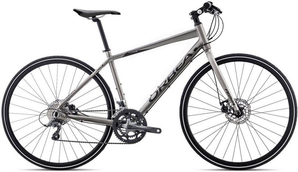 ORBEA Fitnessbike, 28 Zoll, 16 Gang Shimano Claris Kettenschaltung, »Vector 30« in silber schwarz