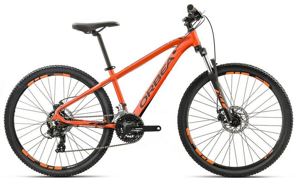 ORBEA Hardtail Mountainbike, 26 Zoll, 24 Gang Shimano Altus Kettenschaltung, »MX 26 Dirt« in orange-schwarz