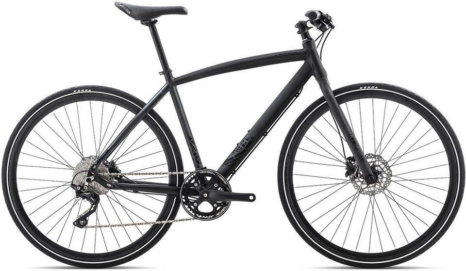 ORBEA Fitnessbike, 28 Zoll, 10 Gang Shimano XT Kettenschaltung, »Carpe 10« in schwarz