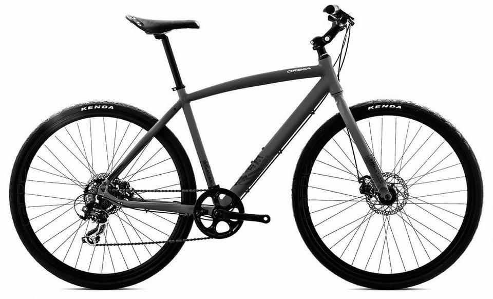 ORBEA Fitnessbike, 28 Zoll, 7 Gang Shimano TY300 Kettenschaltung, »Carpe 40« in schwarz
