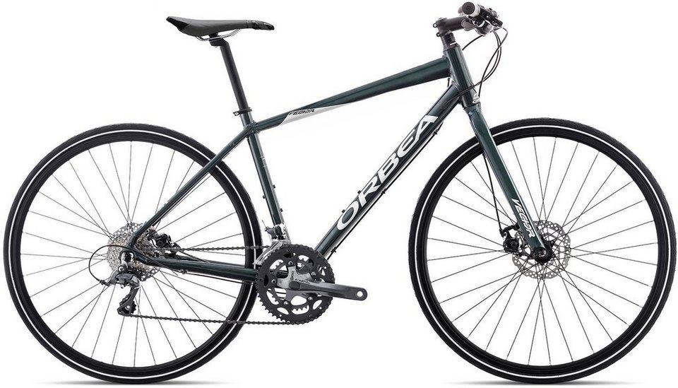 ORBEA Fitnessbike, 28 Zoll, 16 Gang Shimano Claris Kettenschaltung, »Vector 30« in blau silber