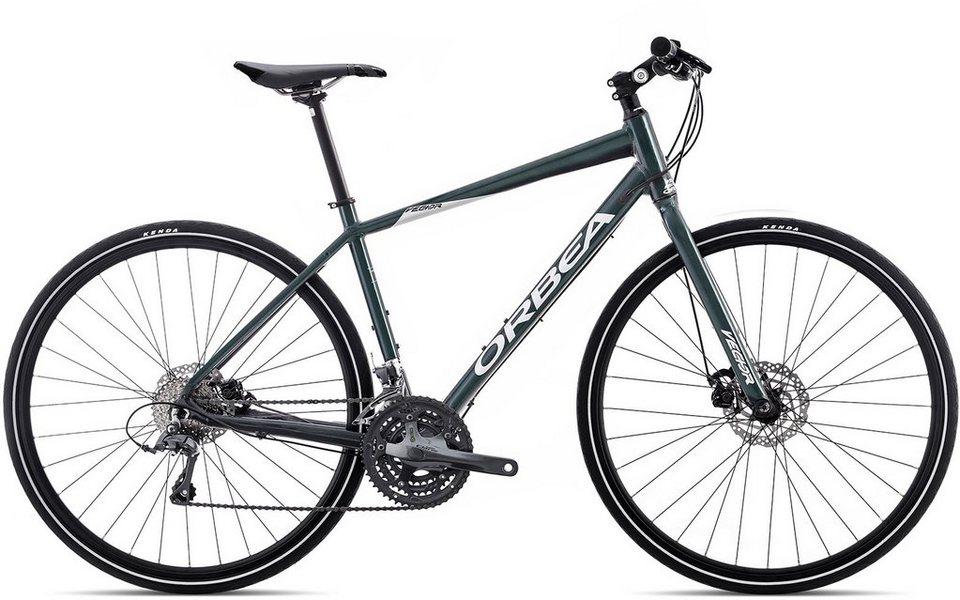 ORBEA Fitnessbike, 28 Zoll, 24 Gang Shimano Claris Kettenschaltung, »Vector 32« in schwarz