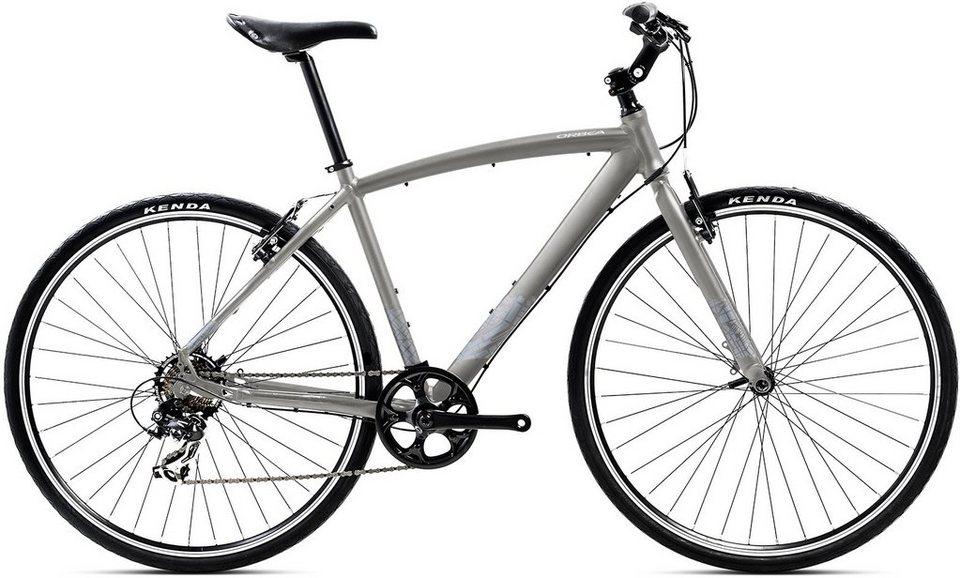 ORBEA Fitnessbike, 28 Zoll, 7 Gang Shimano TY300 Kettenschaltung, »Carpe 50« in anthrazit