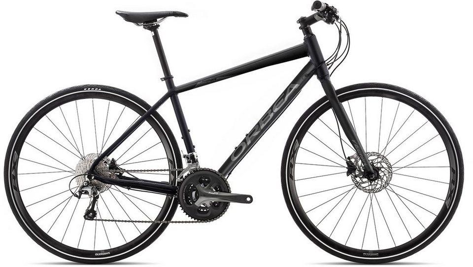 ORBEA Fitnessbike, 28 Zoll, 30 Gang Shimano Tiagra Kettenschaltung, »Vector 12« in schwarz