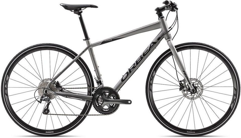 ORBEA Fitnessbike, 28 Zoll, 20 Gang Shimano Tiagra Kettenschaltung, »Vector 10« in silber-schwarz
