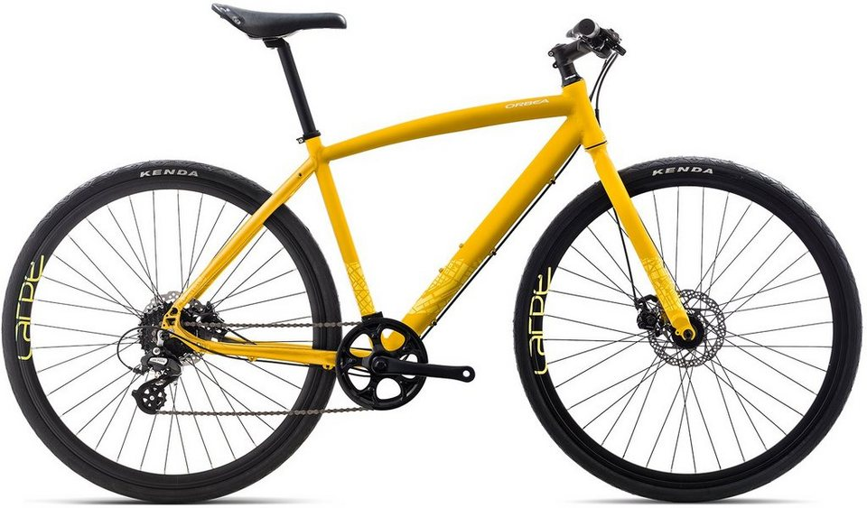 ORBEA Fitnessbike, 28 Zoll, 8 Gang Shimano Altus Kettenschaltung, »Carpe 30« in gelb