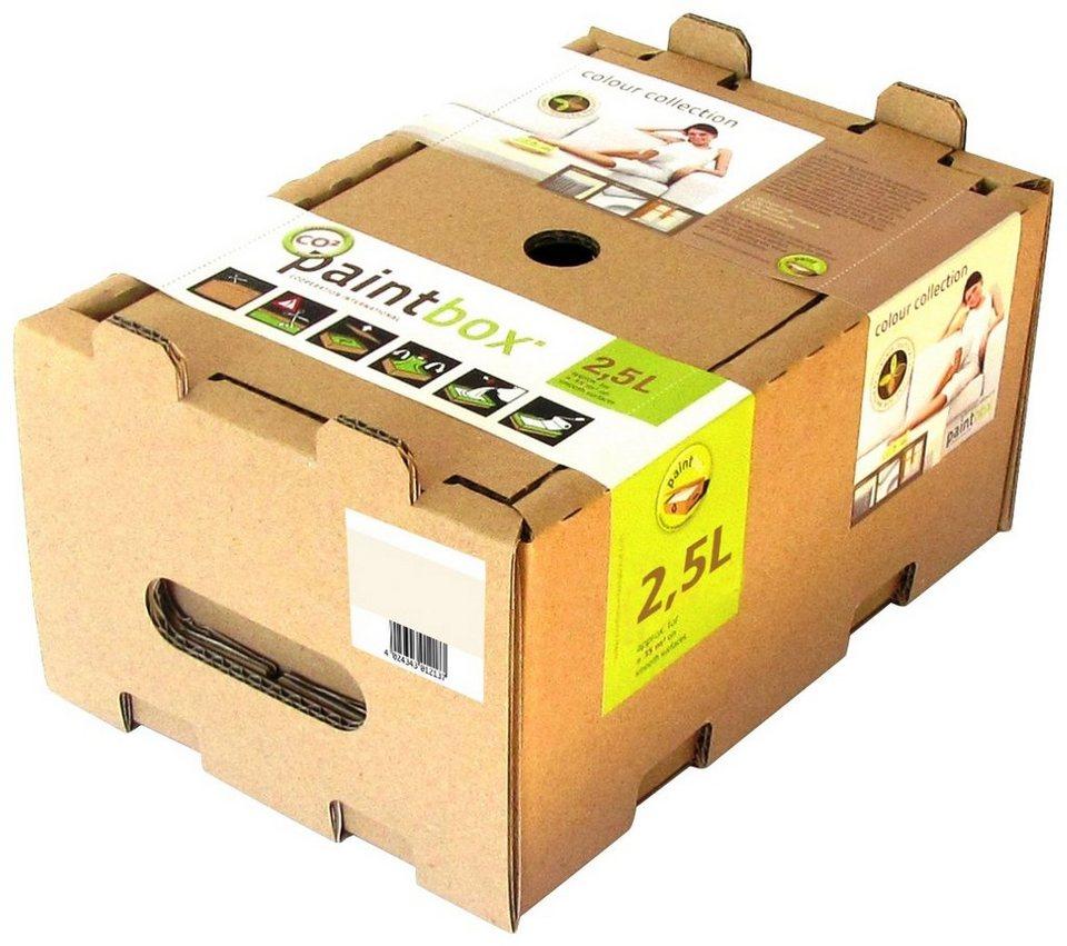 wand und deckenfarbe paintbox colour collection. Black Bedroom Furniture Sets. Home Design Ideas