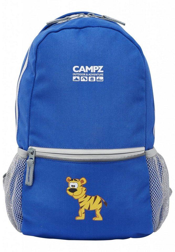 CAMPZ Sport- und Freizeittasche »Tiger 10L Rucksack Kids« in blau
