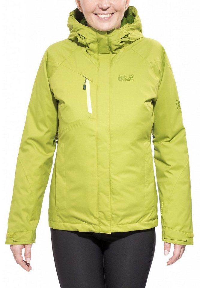 Jack Wolfskin Outdoorjacke »Troposphere DF O2+ Insulated Jacket Women« in gelb