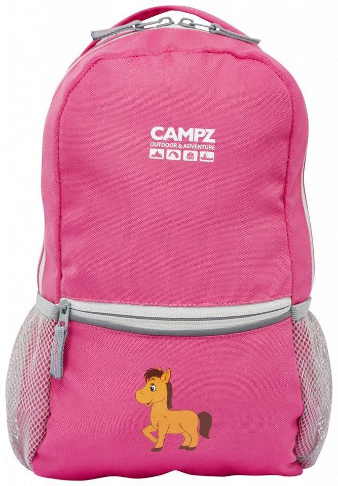 CAMPZ Sport- und Freizeittasche »Pony 10L Rucksack Kids« in pink