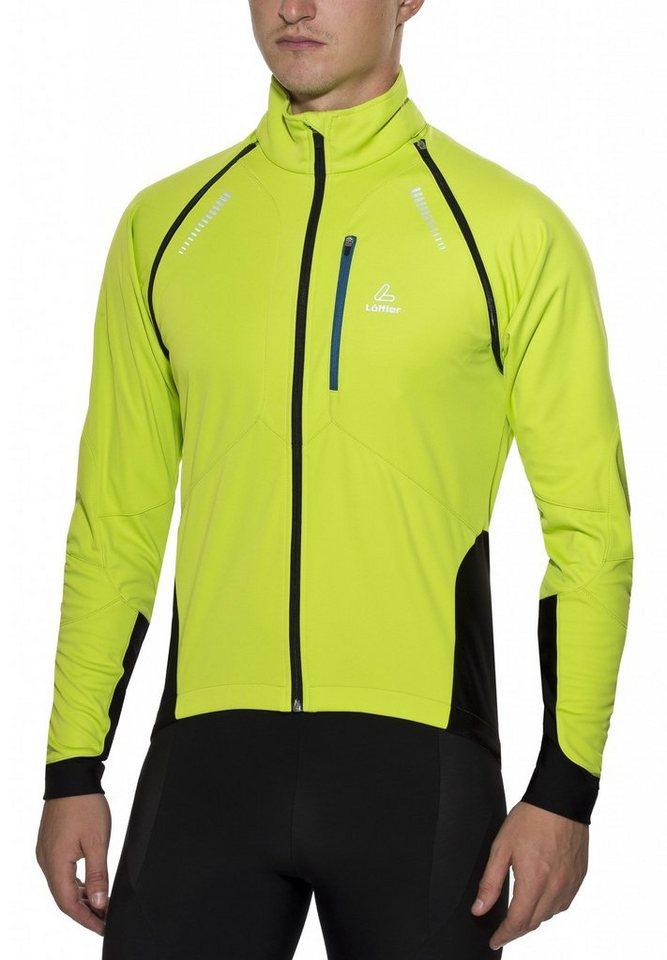 Löffler Radjacke »San Remo WS Softshell Light Bike Zip-Off-Jacke« in grün
