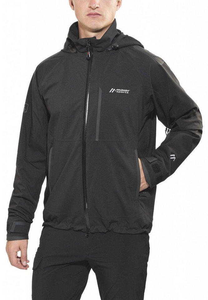 Maier Sports Regenjacke »Tamesi WL Jacke Herren« in schwarz