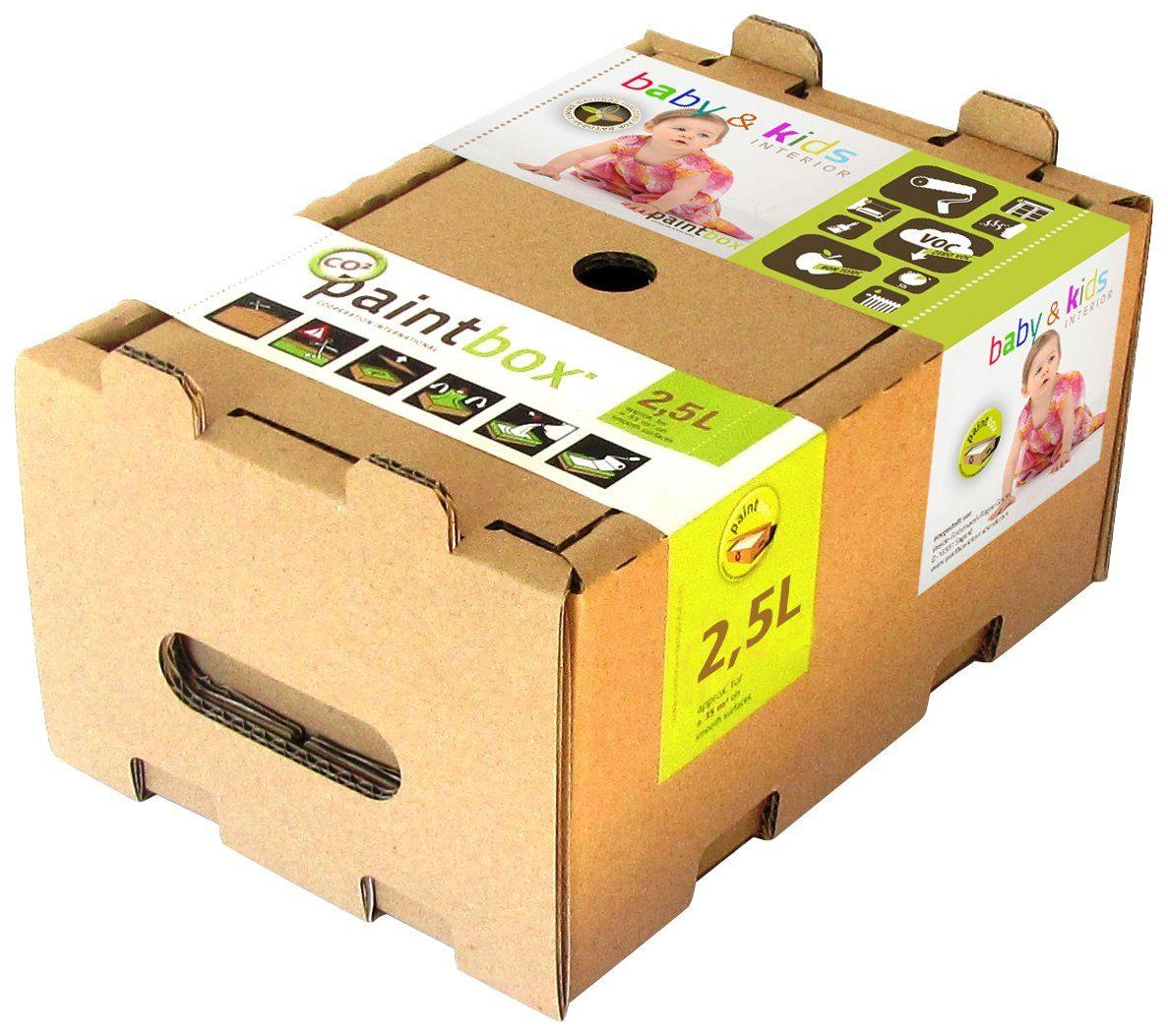 Paintbox Wand- und Deckenfarbe »Paintbox Color Collection Baby & Kids, Blau «, seidenmatt, 2,5 l