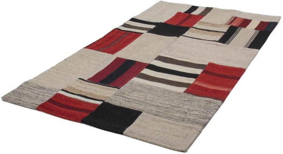 Teppich, Kayoom, »Radical 240«, handgewebt in multi rot