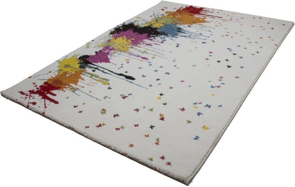 Teppich, Kayoom, »Guayama 241«, gewebt in multi weiss