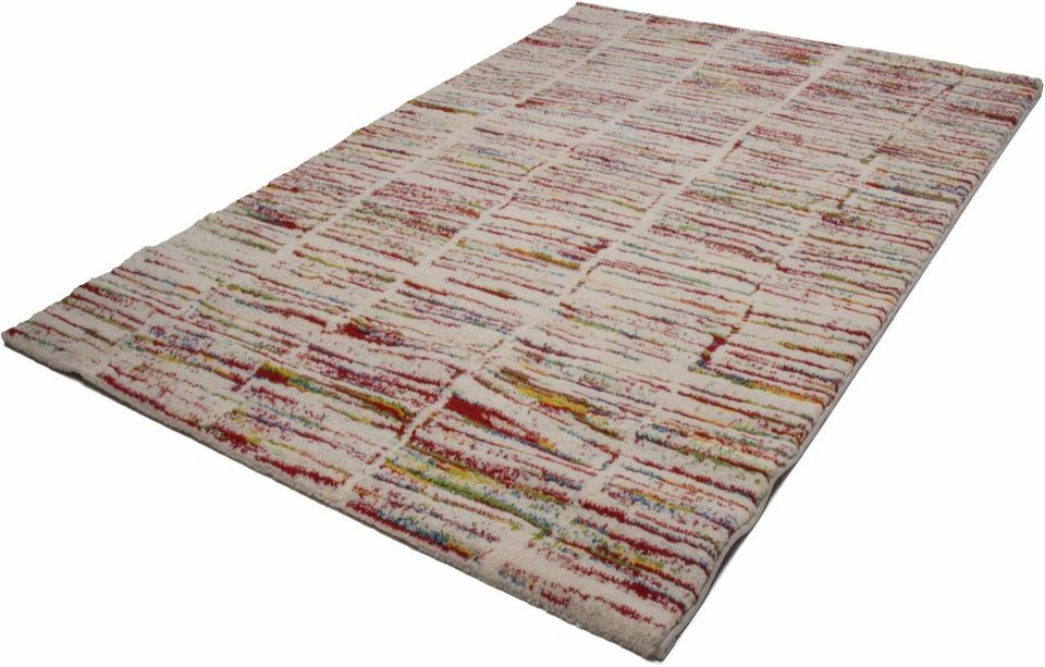 Hochflor-Teppich, Kayoom, »Jupiter 412«, Höhe 25 mm, gewebt in multi