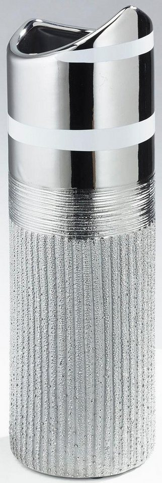 Home affaire Deko-Vase in silber