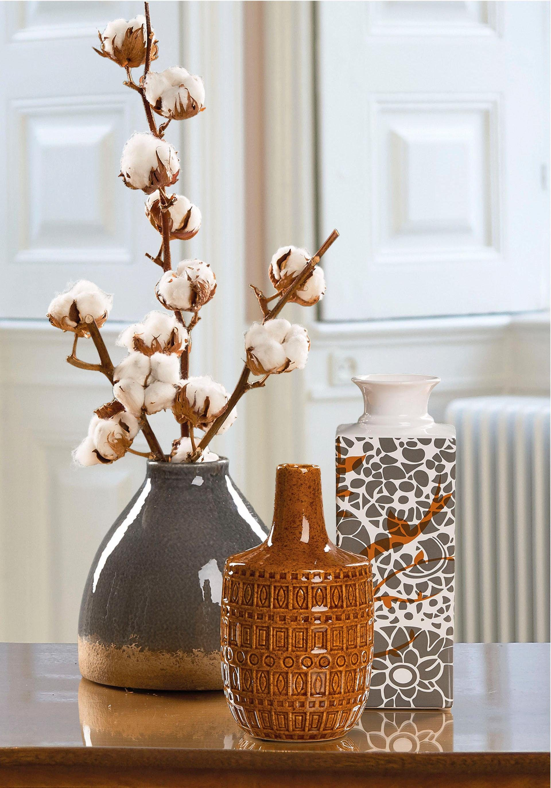 Home affaire Vase mit Muster