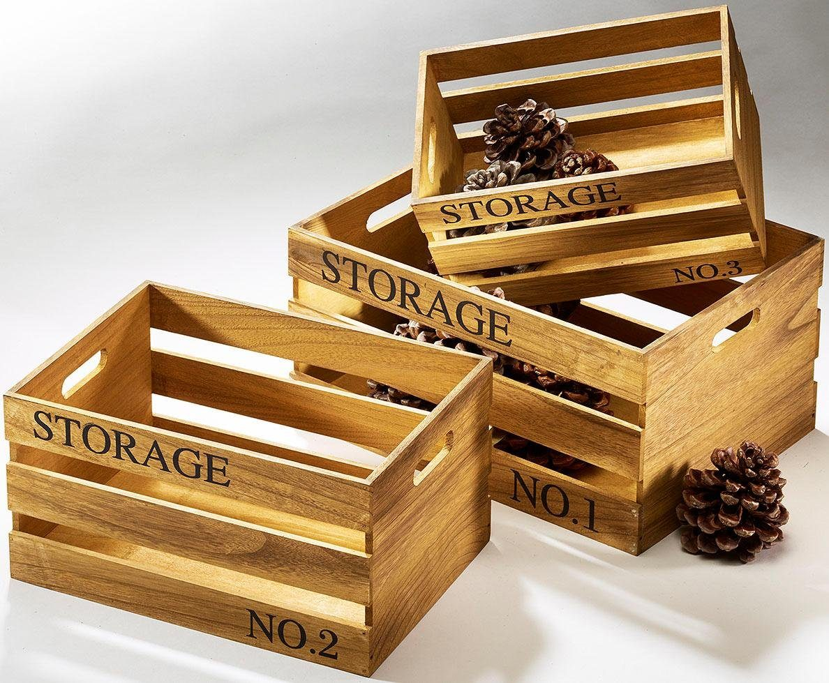 Home affaire Storage-Kiste (3-tlg.)