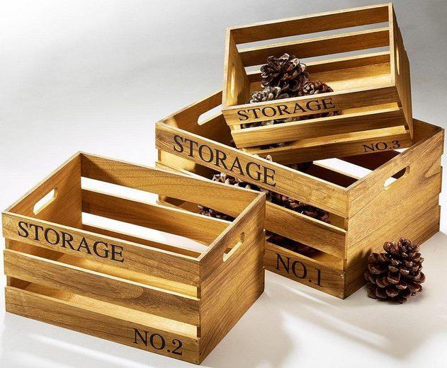 home affaire storage kiste 3 tlg online kaufen otto. Black Bedroom Furniture Sets. Home Design Ideas