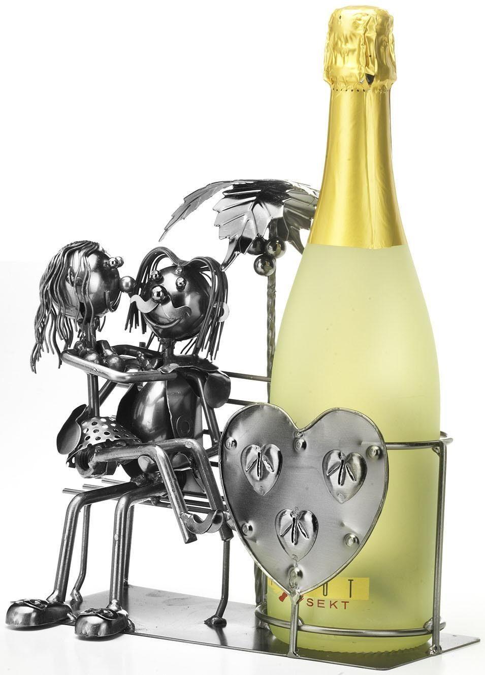 Home affaire Flaschenhalter »Liebespaar«