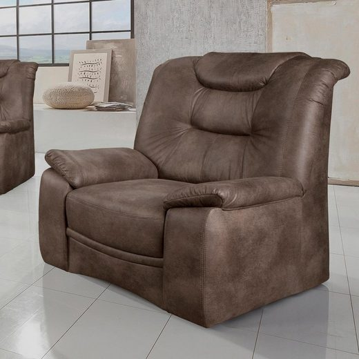 Home affaire Sessel »Grande«, in klassischem Design, mit Federkern