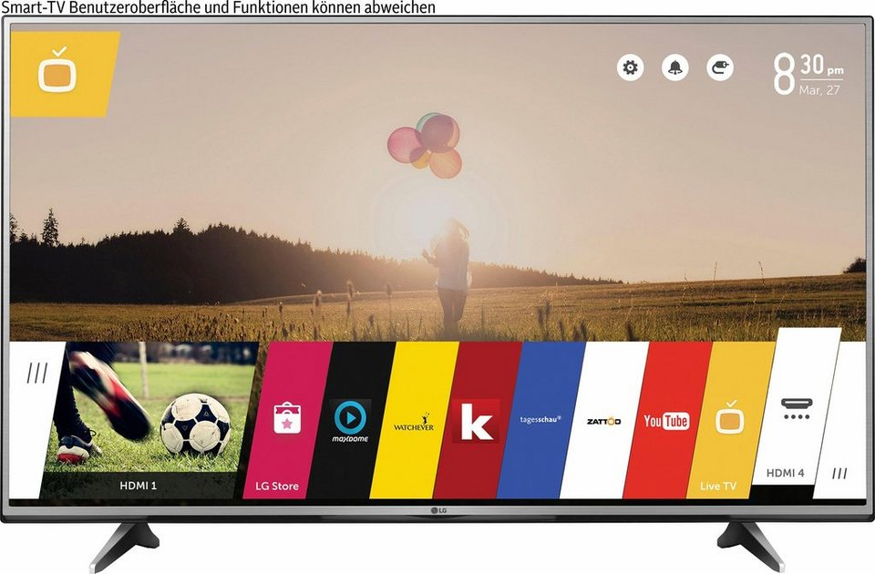 lg 55uh615v led fernseher 139 cm 55 zoll 2160p 4k ultra hd smart tv online kaufen otto. Black Bedroom Furniture Sets. Home Design Ideas