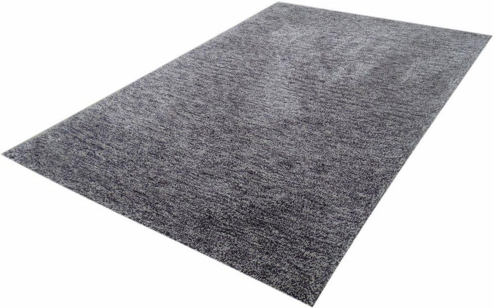 Hochflor-Teppich, Kayoom, »Effortless 310«, Höhe 25 mm, handgewebt in mauve creme