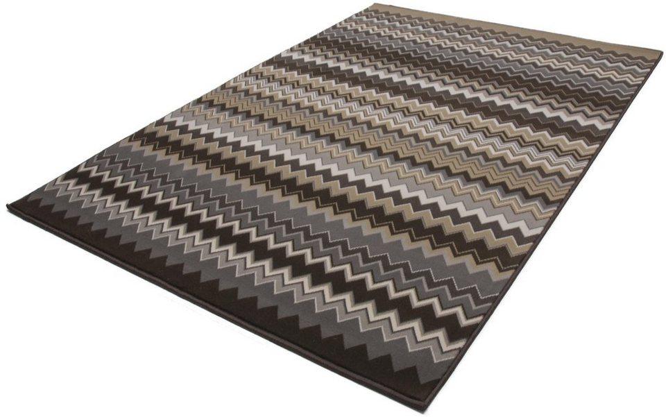 Teppich, Kayoom, »Now! 700«, gewebt in braun