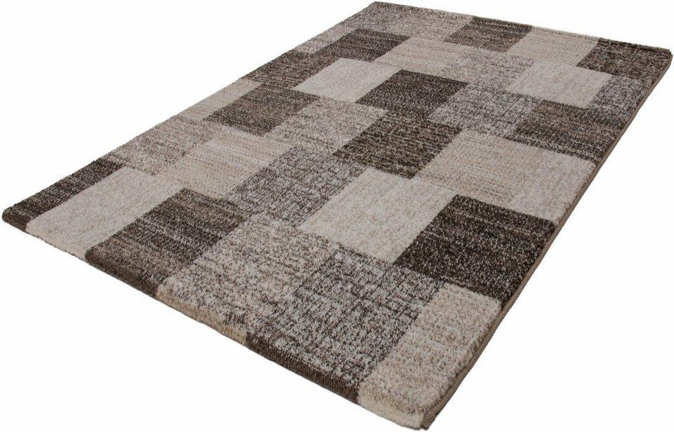 Hochflor-Teppich, Kayoom, »Jupiter 323«, Höhe 25 mm, gewebt in sand