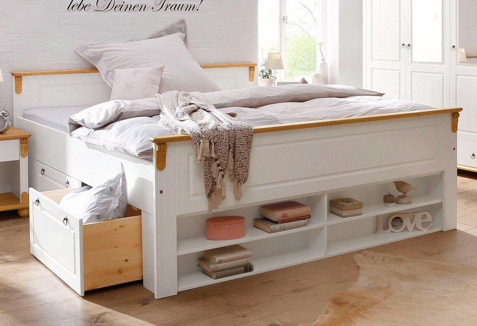 home affaire bett ascona online kaufen otto. Black Bedroom Furniture Sets. Home Design Ideas