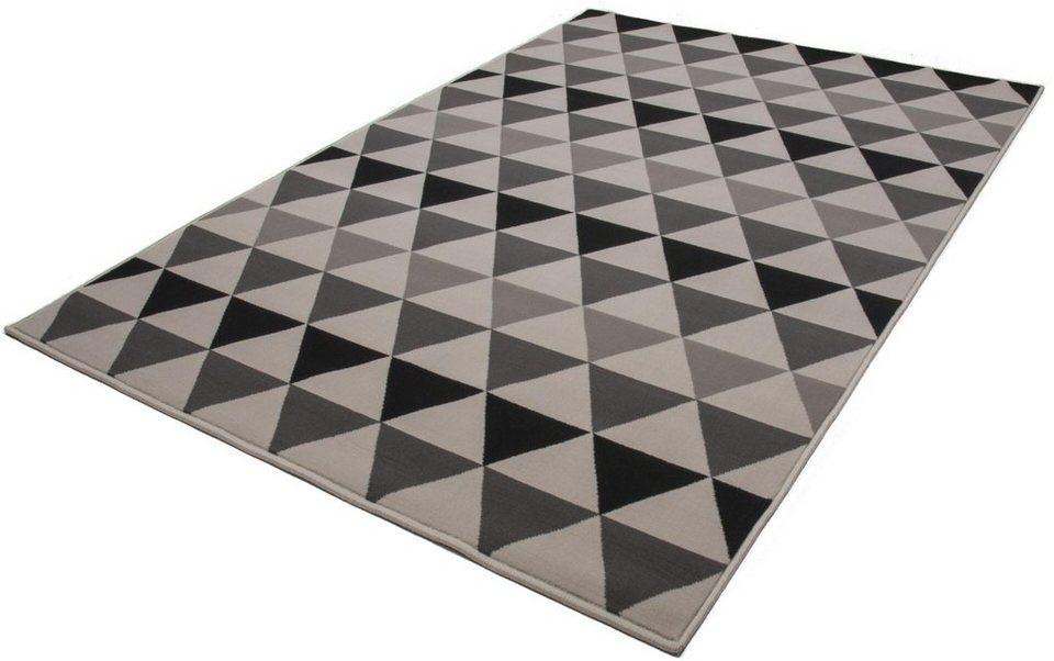Teppich, Kayoom, »Now! 800«, gewebt in grau