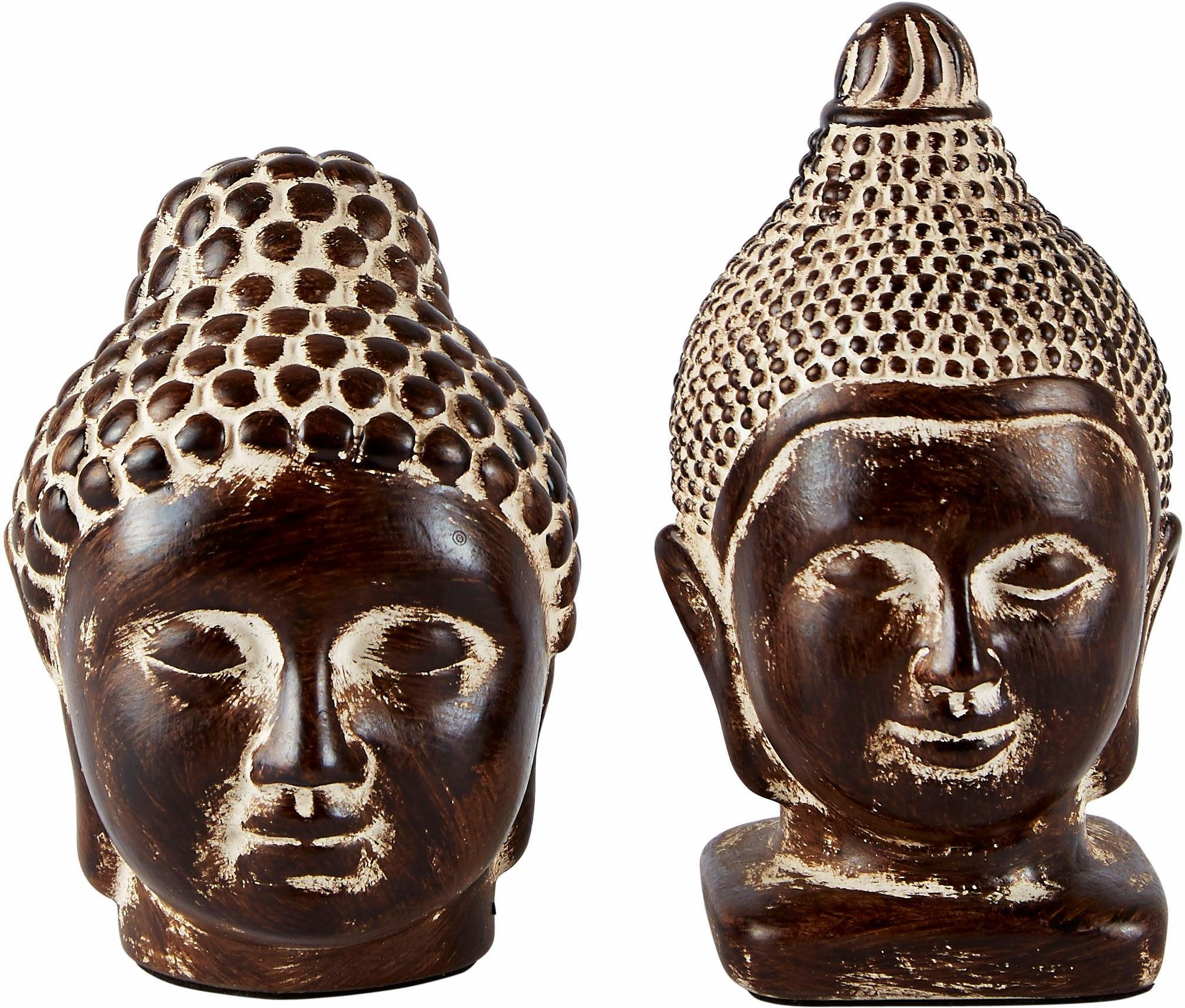 Home affaire Dekofigur »Buddha« (2-tlg.)