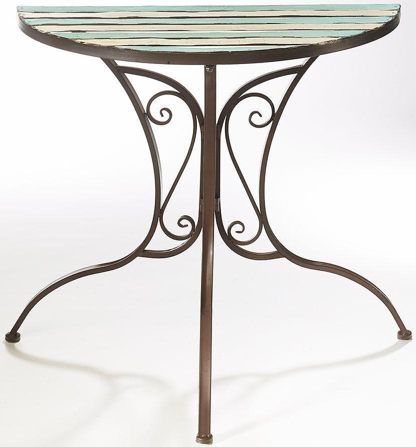 Home affaire Halber Tisch in bunt