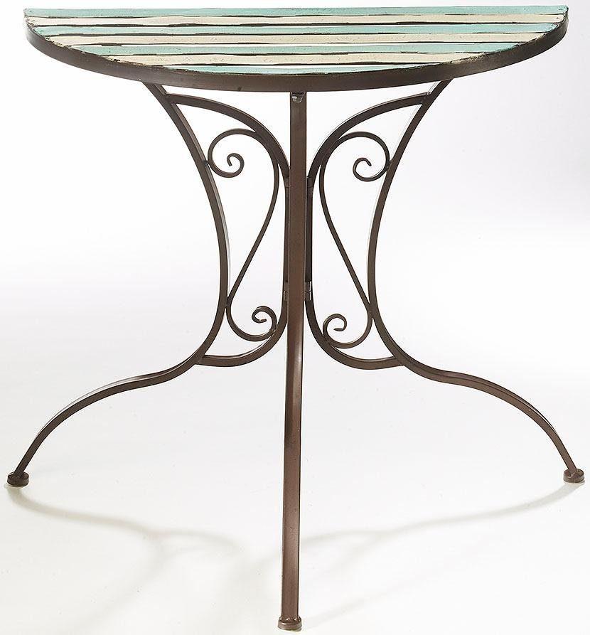 Home affaire Halber Tisch