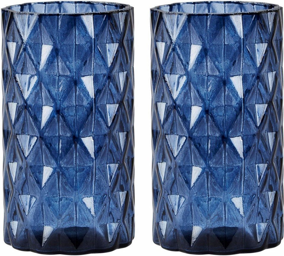 Home affaire Vase (2-tlg.) in Midnight Blue